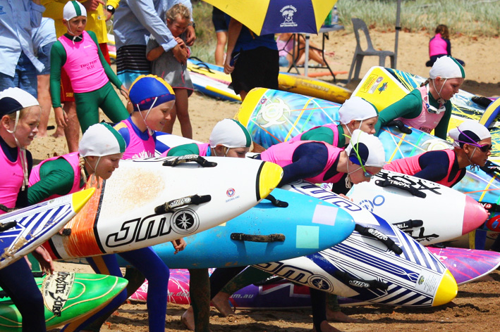 emu park nippers at surf carnival
